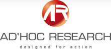 Ad'Hoc Research designed for action